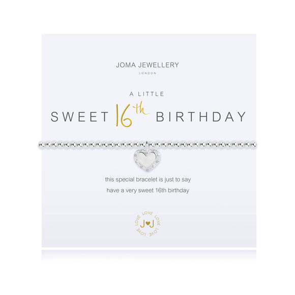 gifteasyonline - A little HAPPY SWEET 16TH BIRTHDAY Bracelet - Joma Jewellery - bracelet