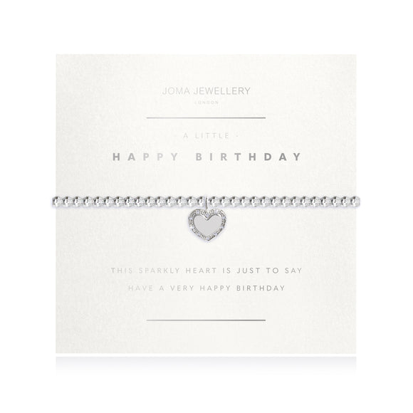 Joma Jewellery A Little Happy Birthday Faceted Bracelet