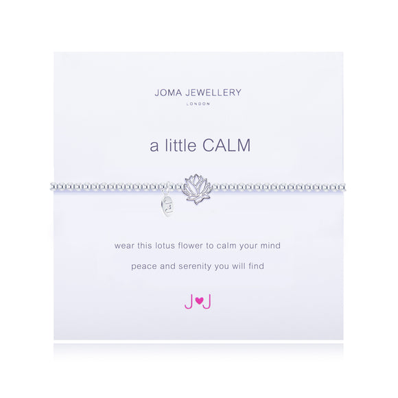 A Little Calm Silver Bracelet By Joma Jewellery - Gifteasy Online