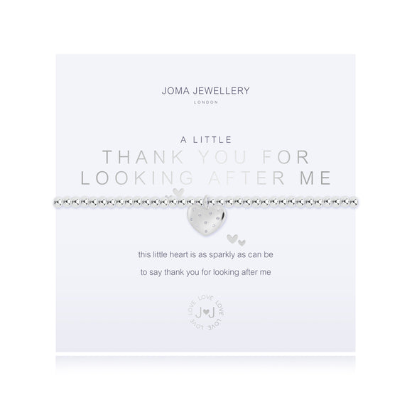 Joma Jewellery A Little Thank you for Looking After Me Bracelet