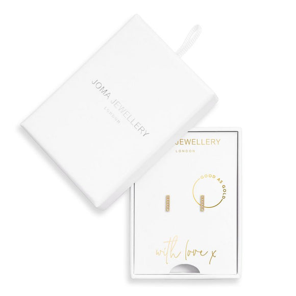 Joma Jewellery Treasure The Little Things Earrings Box Good as Gold - Gifteasy Online