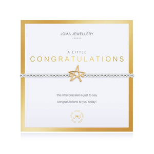 Joma Jewellery Beautifully Boxed Congratulations Bracelet - Gifteasy Online