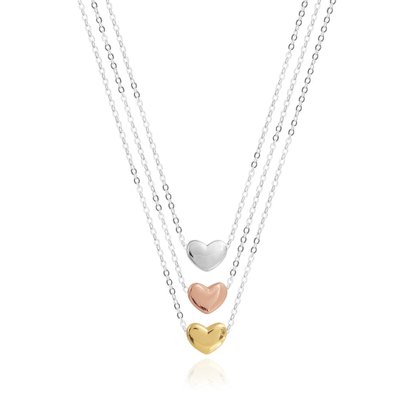 Joma Jewellery Florence Heart Necklace