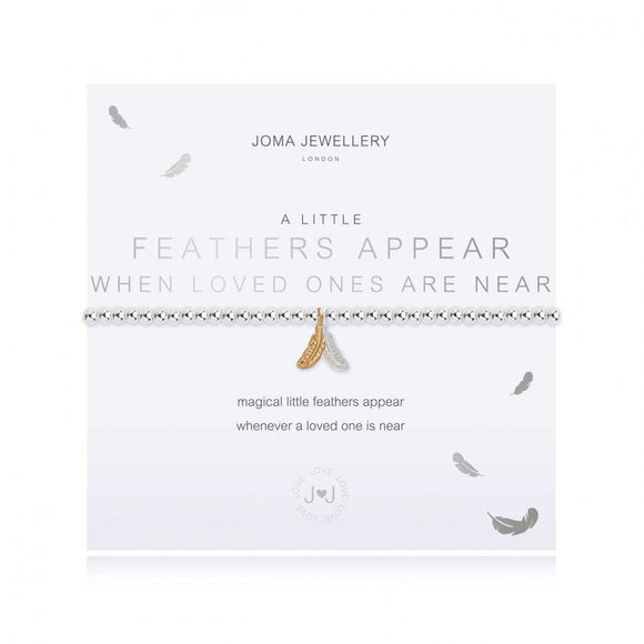 Joma Jewellery A Little Feathers Appear When Loved Ones Are Near Bracelet - Gifteasy Online