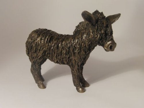 Frith Donkey Standing Sculpture 25cm long Statue Figurine Cast Collectables by Veronica Ballan (VB014)