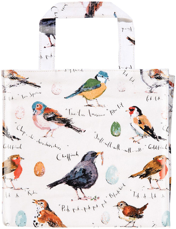 gifteasyonline - PVC Small Gusset Bag Birdsong by Ulster Weavers - Ulster Weavers - Bag