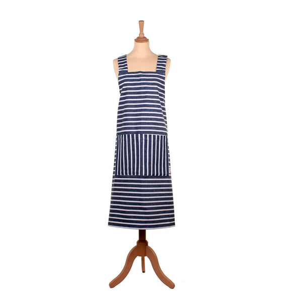 Seasalt Breton Marine Snow Studio Apron by Ulster Weavers