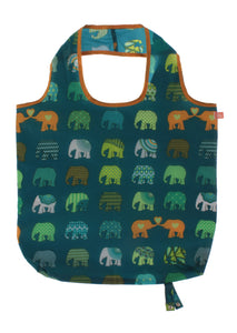 Roll-up Bags Elephant Herd By Ulster Weavers - Gifteasy Online