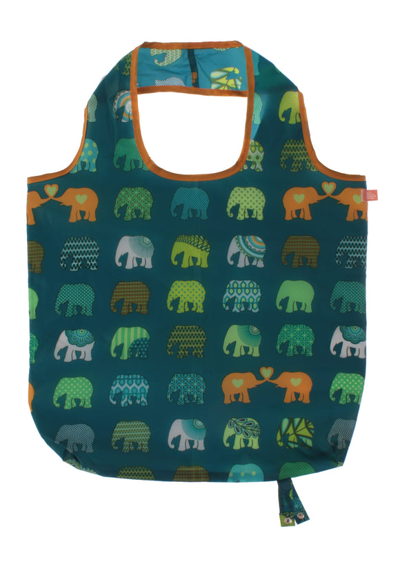 Roll-up Bags Elephant Herd By Ulster Weavers