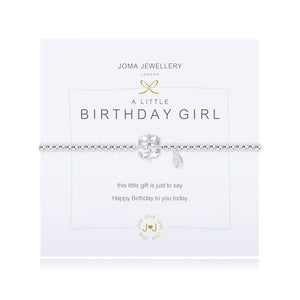 A Little Birthday Girl Bracelet By Joma Jewellery