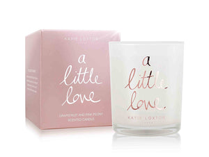gifteasyonline - Katie Loxton Metallic Candle A Little Love Grapefruit and Pink - Katie Loxton - Katie Loxton