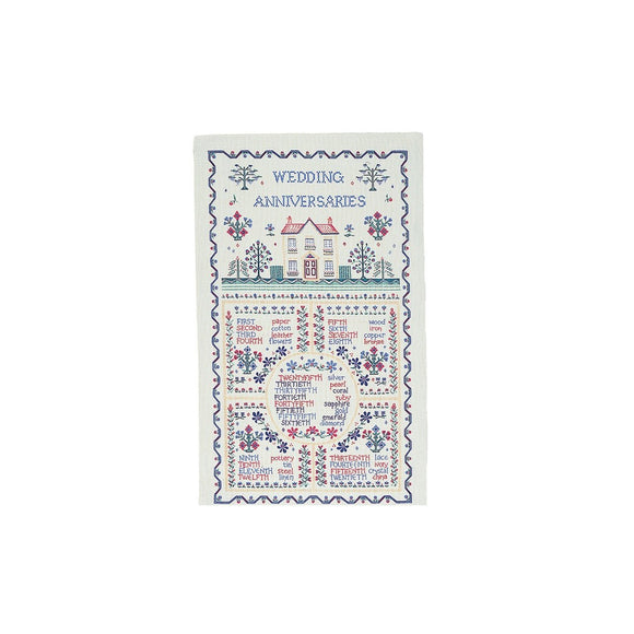 gifteasyonline - Ulster Weavers Wedding Sampler Linen Tea Towel - Ulster Weavers - tea Towel