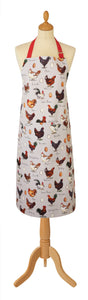 gifteasyonline - Ulster Weavers Cotton Apron MF Chicken & Egg Design - Ulster Weavers - Apron