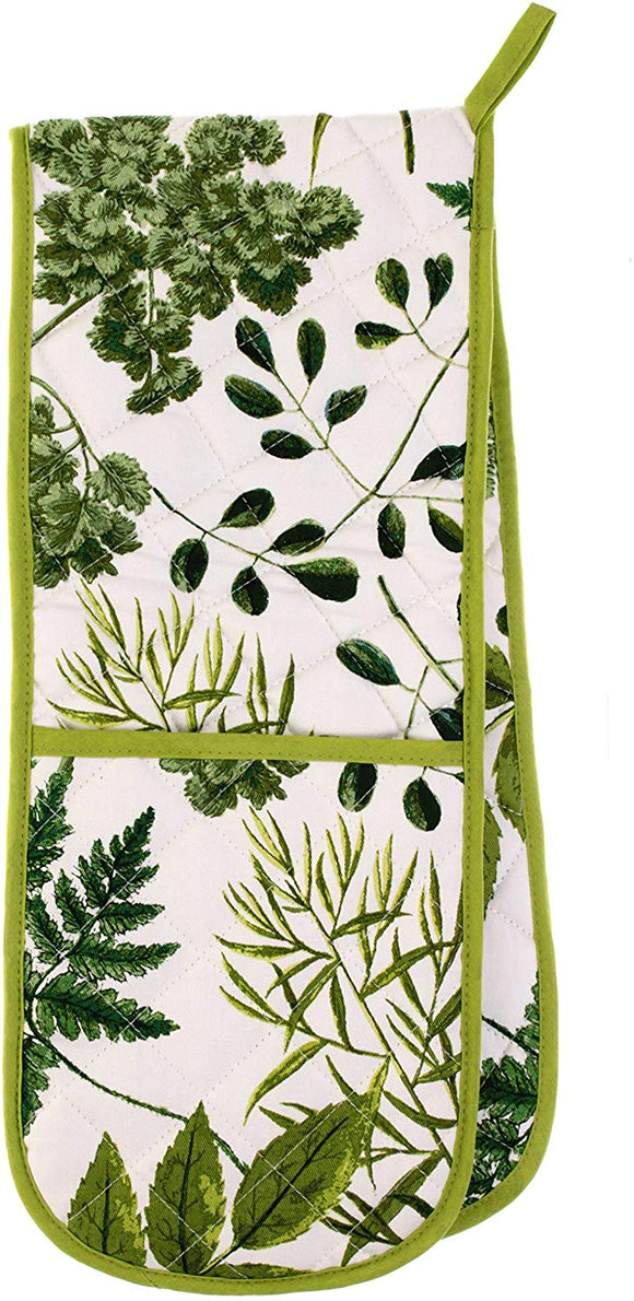 Ulster Weavers RHS Foliage Double Oven Glove