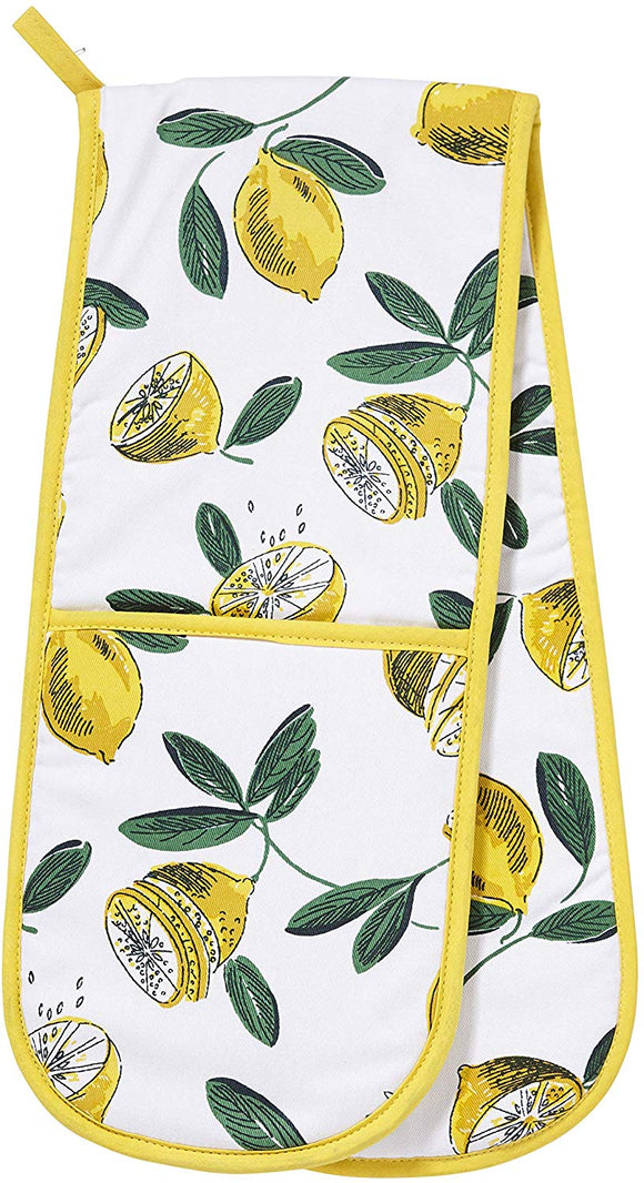 Ulster Weavers  Double Oven Glove Lemons