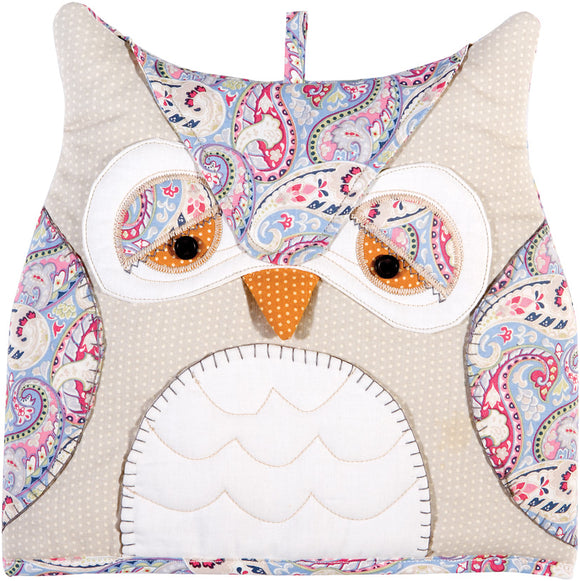 gifteasyonline - Ulster Weavers Shaped Tea Cosy Owl - Ulster Weavers - Shaped Tea Cosy
