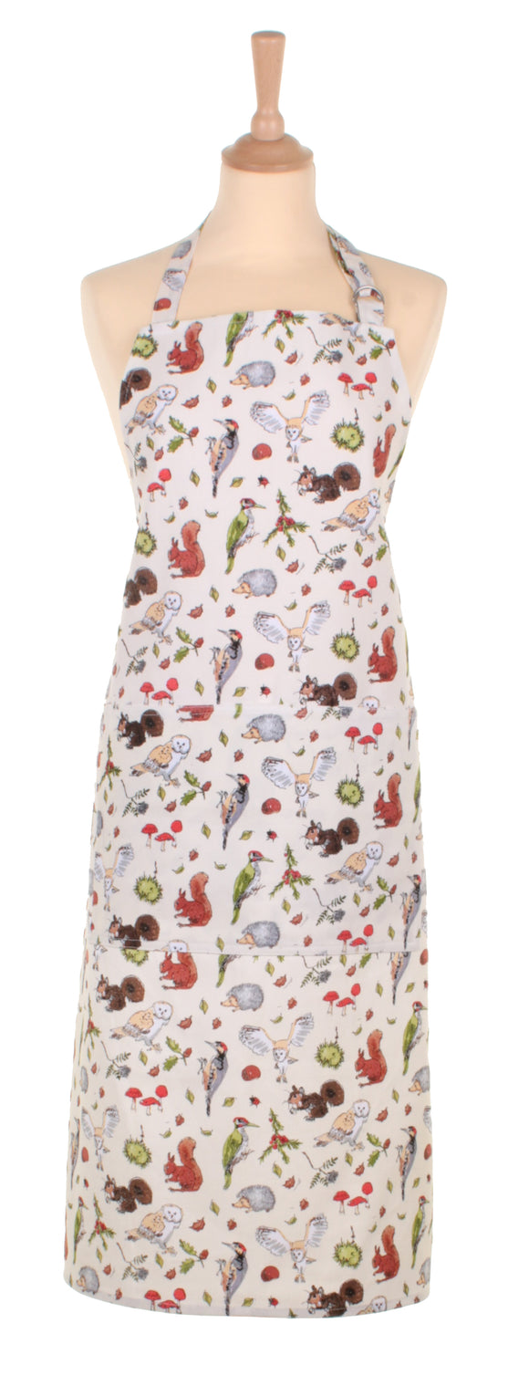 Cotton Apron MF Woodland by Ulster Weavers - Gifteasy Online