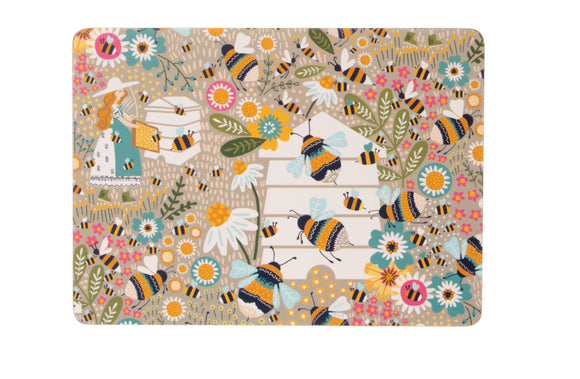 gifteasyonline - Tablemat Pk4 Bee Keepers by Ulster Weavers - Ulster Weavers - Placemat