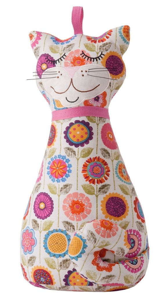 Shaped Doorstop Cat by Ulster Weavers