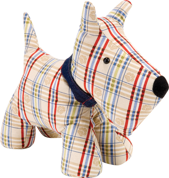Shaped Doorstop Dog by Ulster Weavers
