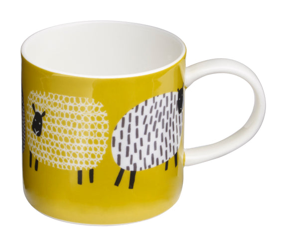 Ulster Weavers Straight Mug Dotty Sheep Design - Gifteasy Online