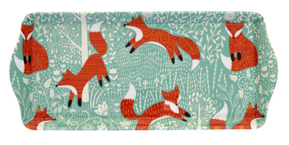 gifteasyonline - Small Tray Foraging Fox by Ulster Weavers - Ulster Weavers - Tray