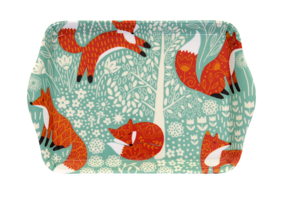 Scatter Tray Foraging Fox by Ulster Weavers
