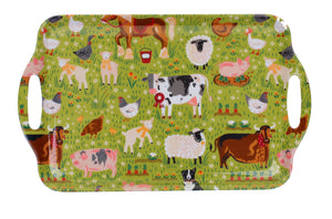 Large Tray Jennies Farm by Ulster Weavers - Gifteasy Online