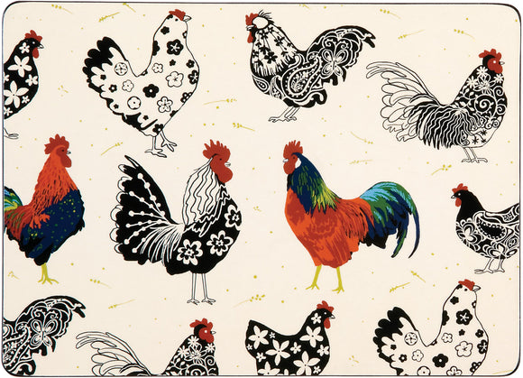 gifteasyonline - Ulster Weavers Rooster Placemats 4 - Ulster Weavers - Placemat