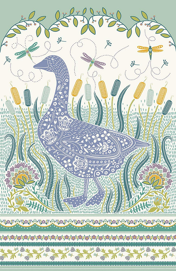 gifteasyonline - Cotton Tea Towel Woodland Goose by Ulster Weavers - Ulster Weavers - tea Towel
