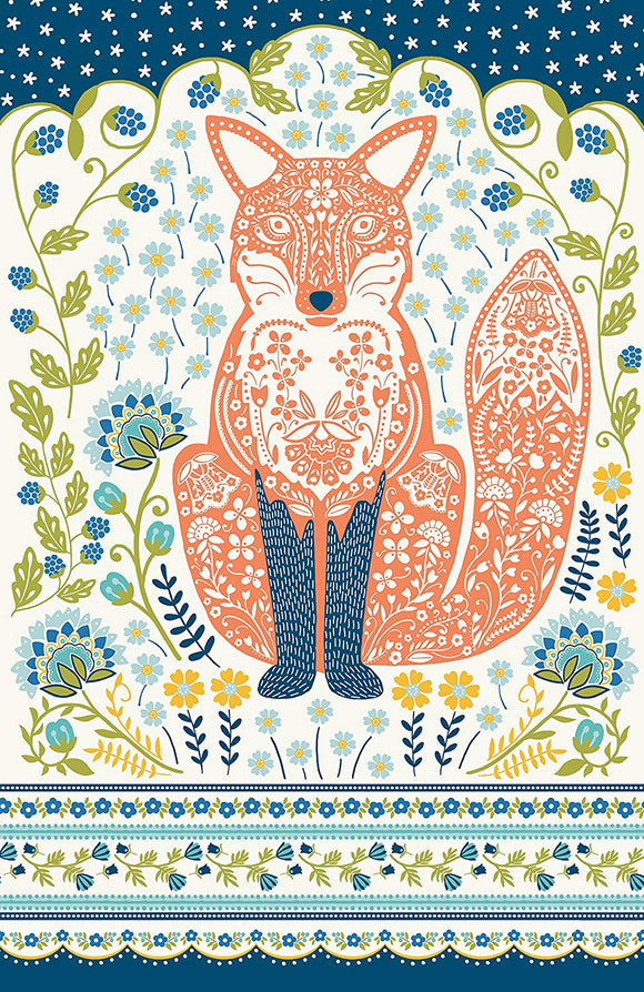 Cotton Tea Towel Woodland Fox by Ulster Weavers - Gifteasy Online