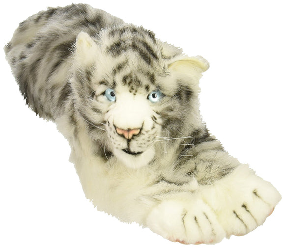 White Tiger Cub White Floppy Reproduction Hansa 21'' -Affordable Gift for your Little One! Item #DHAN-4675