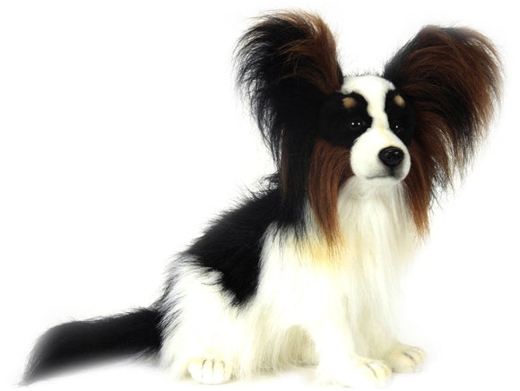 Hansa Papillon soft toy dog. - Gifteasy Online