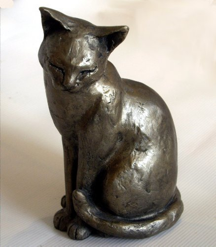 gifteasyonline - Maisie Bronze Cat Sculpture 18cm - Paul Jenkins - Frith - Frith - Frith