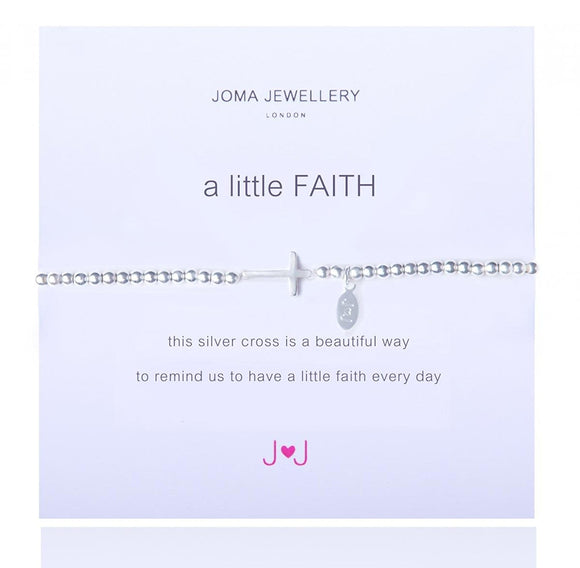 A Little Faith Bracelet Silver Plated By Joma Jewellery