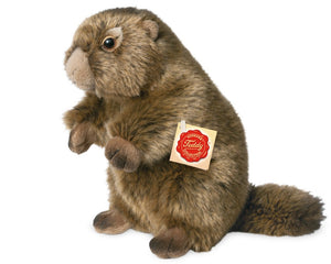 gifteasyonline - Plush Soft Toy Marmot by Teddy Hermann 20cm. 926443 - Hermann Teddy Collection - Hermann Teddy Collection