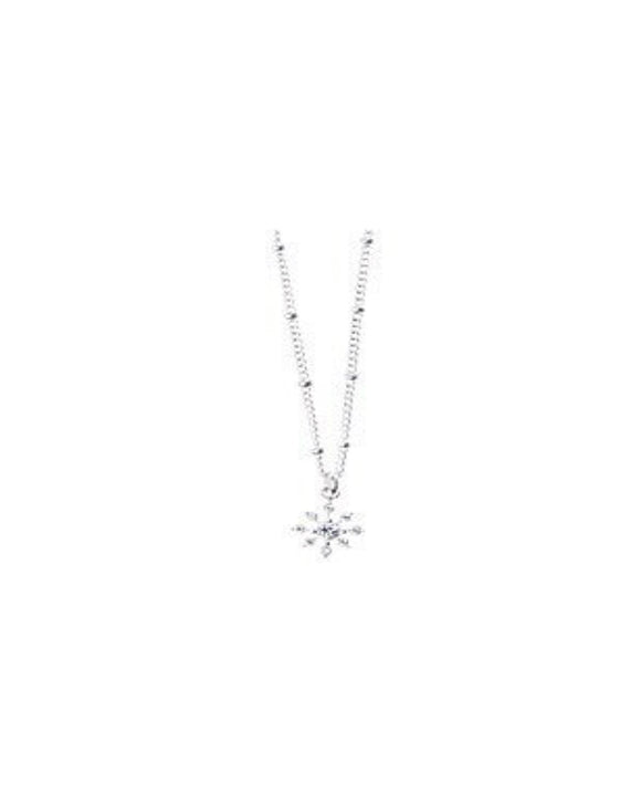 gifteasyonline - Snowfall necklace by joma jewellery silver - Joma Jewellery - necklace