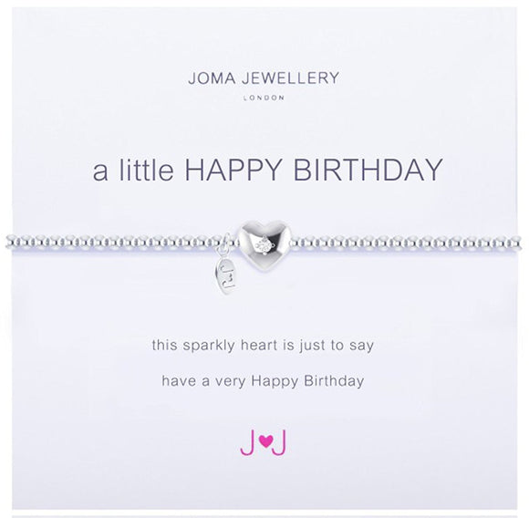 Joma Jewellery A Little Happy Birthday Bracelet