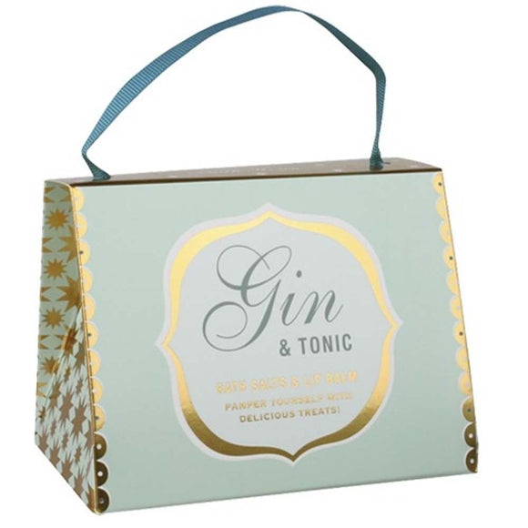 gifteasyonline - Gin and Tonic Handbag - Bath House - Bath House