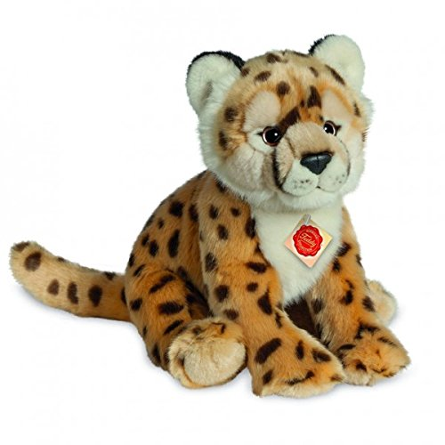 Cheetah Cub Plush Soft Toy by Teddy Hermann .26cm. 904656 - Gifteasy Online