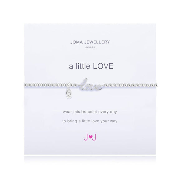 Joma jewellery a little Love silver word