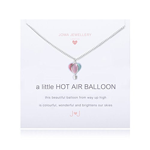 Joma Jewellery Childrens a little Hot Air Balloon Necklace - Gifteasy Online