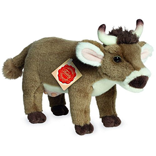 gifteasyonline - Plush Soft Toy Cow Standing by Teddy Hermann. 22cm. 91727 - Hermann Teddy Collection - Hermann Teddy Collection