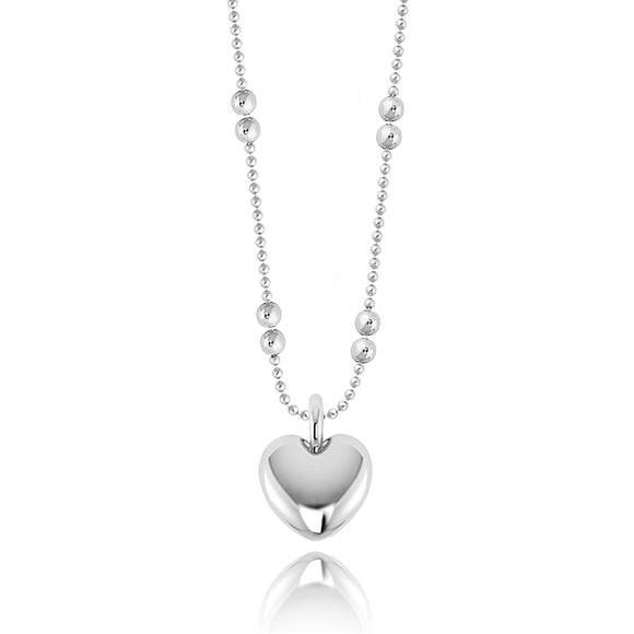 Joma Jewellery Libby Silver Heart Necklace - Gifteasy Online