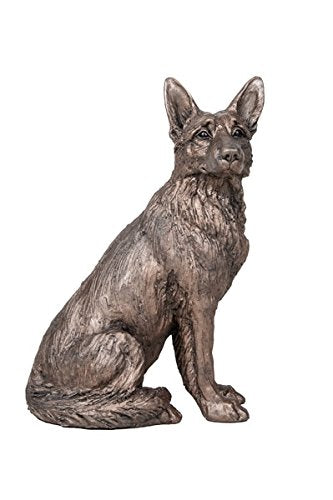 gifteasyonline - Frith German Shepherd Cold Cast Bronze Dog Duke - Frith - Frith