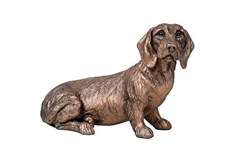 gifteasyonline - Frith Cold Cast Bronze Dachshund Dog Rudi Sitting - Frith - Frith