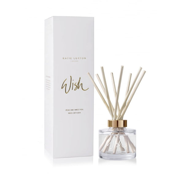 Katie Loxton Reed Diffuser - Wish - Pear & Sweet Pea
