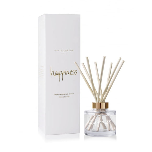 gifteasyonline - Katie Loxton London - Reed Diffuser - Happiness - Sweet Orange & Mango - Katie Loxton - Katie Loxton