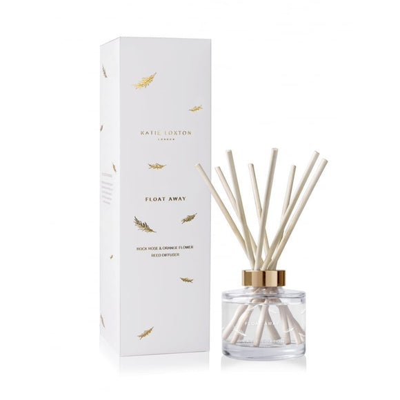 Katie Loxton London - Reed Diffuser - Float Away - Rock Rose & Orange Flower