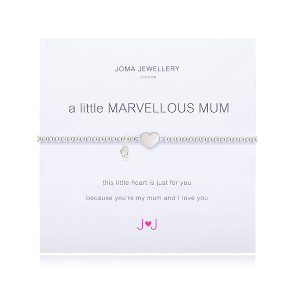 A Little Marvellous Mum Bracelet With Pearl by Joma Jewellery - Gifteasy Online